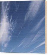 The Reaching Sky 3 Wood Print
