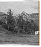 The Real Alaska -the Good Life Wood Print