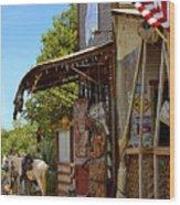 The Real Cowboy Bar Wood Print