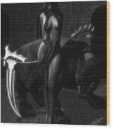 The Reaper Wood Print
