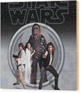 The Rebels Phone Case Wood Print