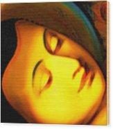 The Recining Buddha Wood Print