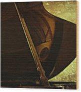 The Recital Wood Print