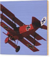The Red Baron II Wood Print