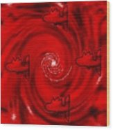 The Red Sea Wood Print