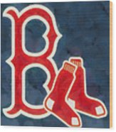 The Red Sox Wood Print
