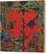 The Red Tree -or- Paint Wood Print