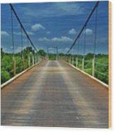The Regency Bridge 3 Wood Print