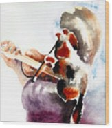The Rehearsal Wood Print by Linda Lindall