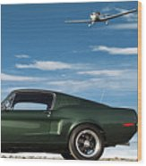 The Rendezvous - 1968 Mustang Fastback Wood Print