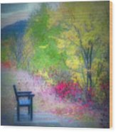 The Resting Place Wood Print