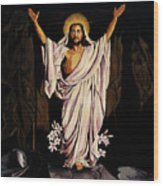 The Resurrection Wood Print