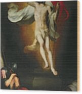 The Resurrection Of Christ Wood Print by Bartolome Esteban Murillo