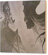 The Resurrection Stone Wood Print by Lisa Leeman