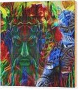 The Return Of The Adamastor  Wood Print
