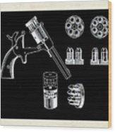 The Revolver Wood Print