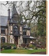 The Rhine House Of Napa Valley Wood Print