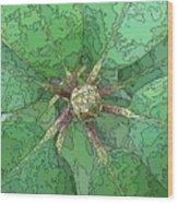 The Rhody Bud Wood Print