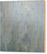 The Rhythm Of Falling Rain Wood Print