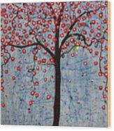The Rhythm Tree Wood Print