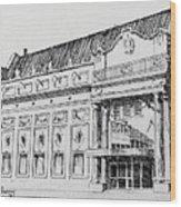 The Rialto Theater Deer Lodge Montana Wood Print
