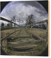 The Rickity Bridge Wood Print