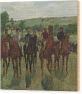 The Riders, 1885 Wood Print