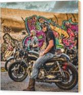 The Riders Wood Print