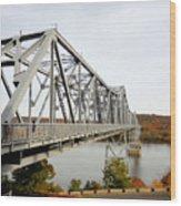 The Rip Van Winkle Bridge 4 Wood Print
