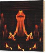 The Ritual Wood Print