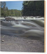 The River - Furnace Falls - Burnt River Wood Print
