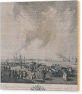 the river Neva Wood Print
