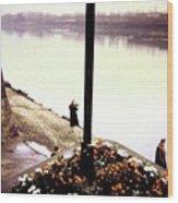The River Seine 1955 Wood Print