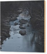 The Rivers Keep Secrets Wood Print