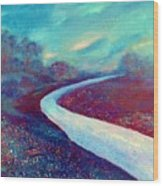 The Road - New Beginnings Wood Print