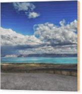 The Road To Bear Lake Wood Print