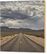The Road To Death Valley Wood Print