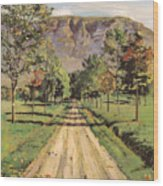 The Road To Evordes Wood Print