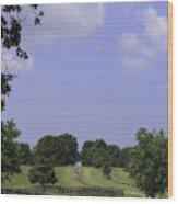 The Road To Lynchburg From Appomattox Virginia Wood Print