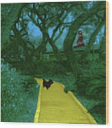 The Road To Oz Wood Print