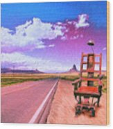 The Road To Perdition Wood Print