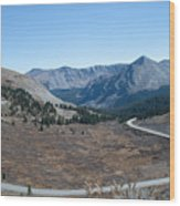 The Road To The Continental Divide Wood Print