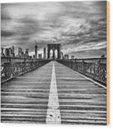 The Road To Tomorrow Wood Print by John Farnan