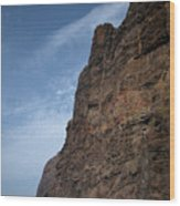 The Rocks Of Los Gigantes 2 Wood Print