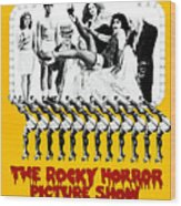 The Rocky Horror Picture Show Wood Print by Everett