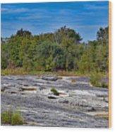 The Rocky Limestone Trail  Wood Print