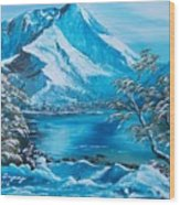 The Rocky Mountains  Wood Print