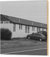 The Rolling Stones' Memory Motel Montauk New York Wood Print