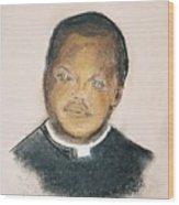 The Roman Catholic Priest From Zanzibar  Wood Print