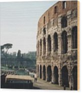 The Roman Colosseum Wood Print
